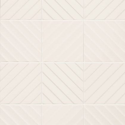 Dlažba Diagonal White