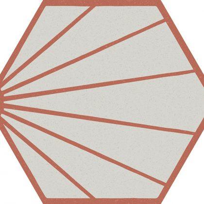 Dlažba Marca Corona Paprica P3 Colore
